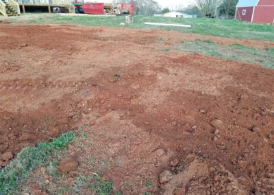 Covered Septic System Installation