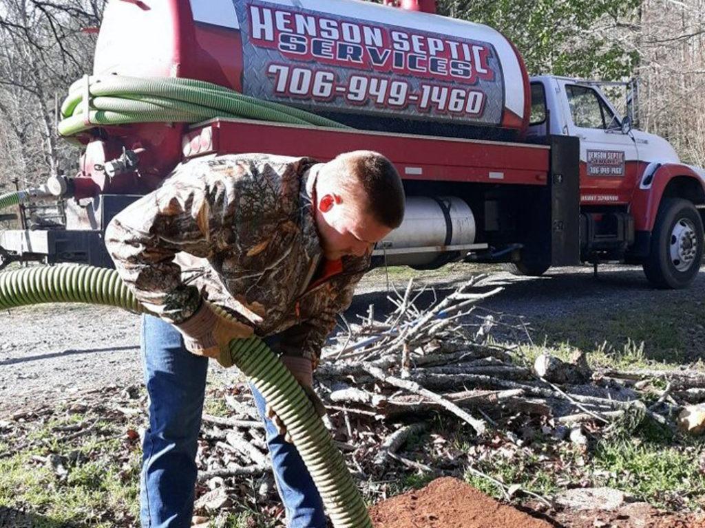 Henson Septic Tank Pumping in Georgia