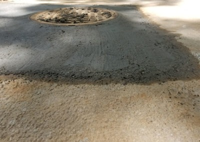 Septic Tank Concrete Work & Lid